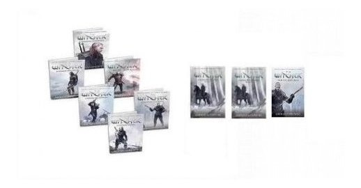 Livros Coleção Completa The Witcher - Capa Game ( 9 Livros )
