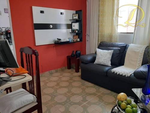 Apartamento Com 1 Dormitório À Venda, 55 M² Por R$ 180.000 - Boqueirão - Praia Grande/sp - Ap4221