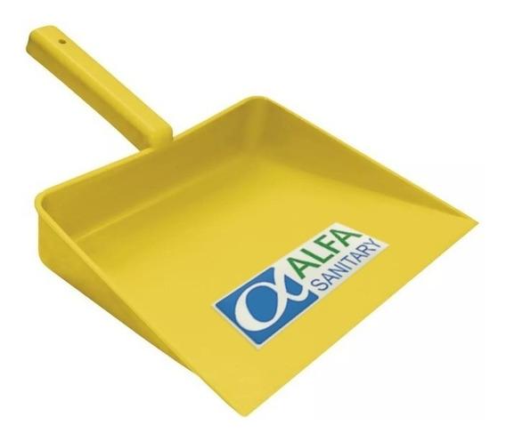 Recogedor Manual De Plástico Amarillo