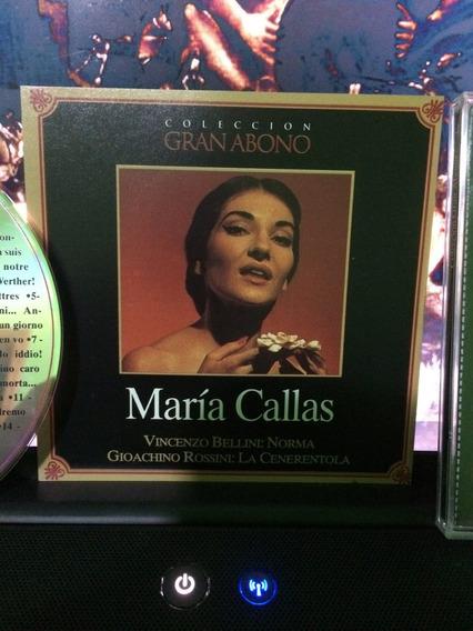 Maria Callas Cd Coleccion Gran Abono Usado