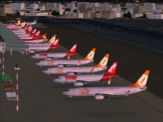 Tráfego Aéreo 4 X 1 Para Flight Simulator X - Frete Grátis