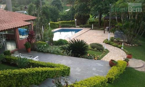 Imagem 1 de 30 de Chácara Com 4 Dormitórios À Venda, 4932 M² Por R$ 1.300.000,00 - Vale Verde - Valinhos/sp - Ch0028