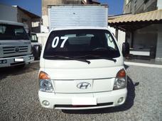 Hyundai Hr 2007/2007 Baú , Motor Revisado Com Notas Fiscais