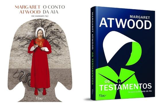 O Conto Da Aia + Os Testamentos - Margaret Atwood Novos Nf