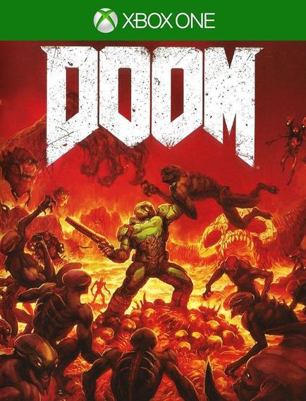Doom - Xbox One 25 Digitos