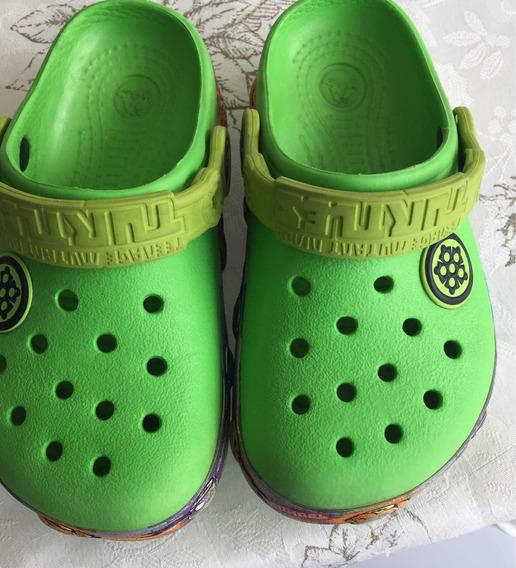 Crocs Infantiles Para Niño Tortugas Ninja