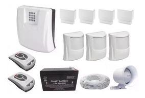 Kit Central De Alarme Gsm1000 Sulton Chip + Sensores S/fio