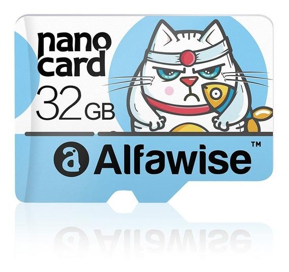Cartão De Memória Micro Sd Classe 10 De 32gb Leitura 80mb/s