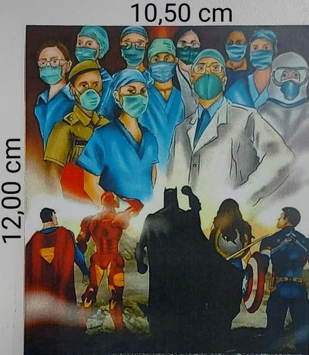 Cartão Enfermeiros Frente E Verso