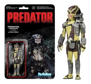 Predator Unmasked Reaction Funko Super 7 Original Replay