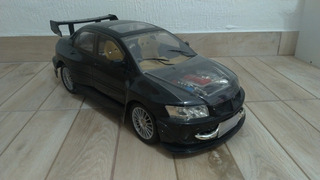 Miniatura Lancer Evolution 2005 Custom Escala 1/8