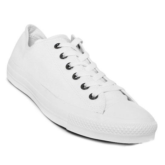 Converse Blancos Originales 26, Unisex Monocromo