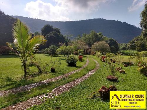 Imagem 1 de 15 de Itaocaia Valley-chácara 7.000 M² - Casa 3 Qts, 5 Baias, Lago-r$ 850 Mil - 477