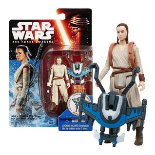 Figura Rey (starkiller Base) Star Wars The Force Awakens -mj