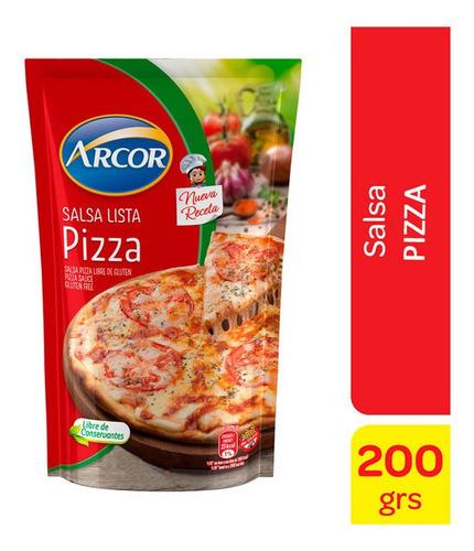 Salsa Lista Pizza Arcor X 340 Gr