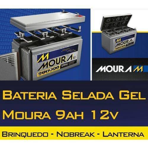 Bateria Selada Moura 12v 9ah Nobreak, Alarme, Etc.