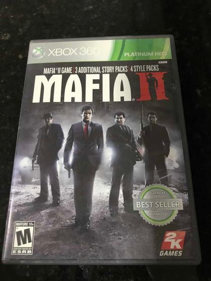 Jogo Xbox 360 Máfia 2 Original Mídia Física