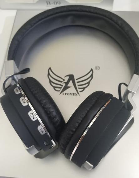 Headphone Bluetooth Altomex B-09 Mp3 Fm Microsd