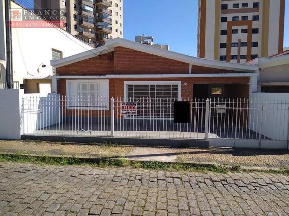 Casa Com 3 Dormitórios Para Alugar, 250 M² Por R$ 2.000,00/mês - Vila Clayton - Valinhos/sp - Ca0676
