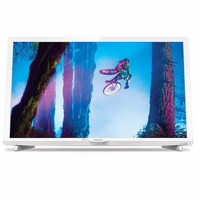 Tv Led Philips Hd 24 Marco Blanco Mod. 24phg4032/77
