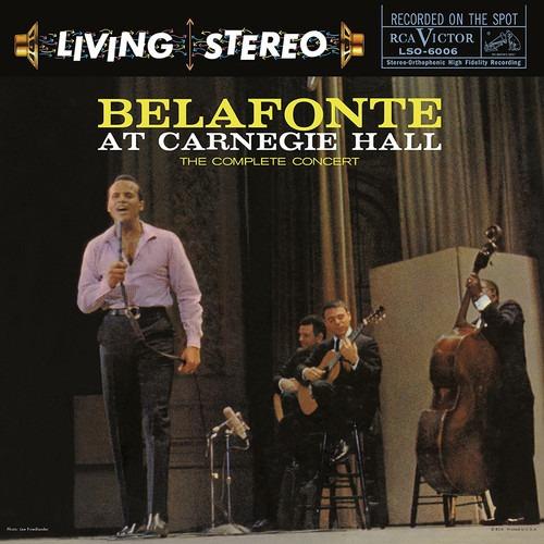 Harry Belafonte Belafonte At Carnegie Hall Vinilo Lp Us Imp