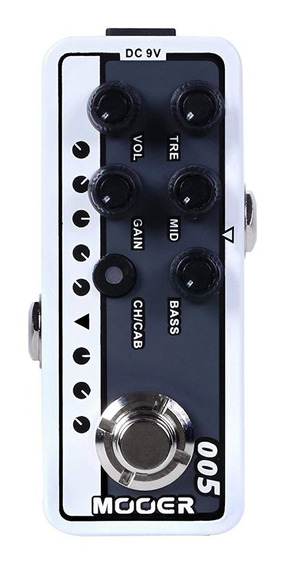 Pedal De Guitarra Pré Amp Mooer Brown Sound 3 M005