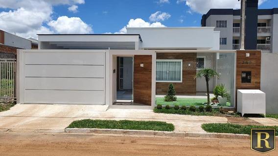 Casa Para Venda Em Guarapuava, Boqueirão - _2-1065232