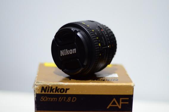 Lente Nikon 50mm 1.8d