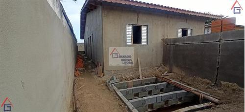Imagem 1 de 2 de Casa Para Venda Em Mongaguá, Balneário Jussara, 2 Dormitórios, 1 Suíte, 1 Banheiro, 2 Vagas - 978_1-1837632