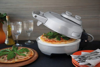 Forno Elétrico Pizza Express 1000w Aço Inox Tramontina 110v