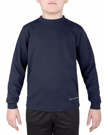 Camiseta Térmica Montagne Niños Flynn Talles Varios .