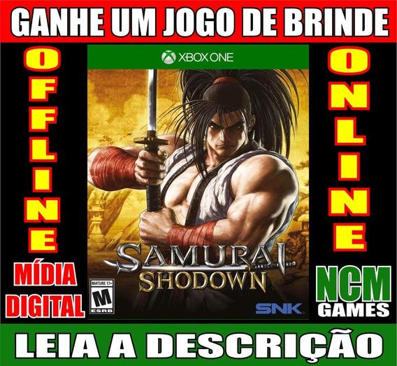 Samurai Shodown Ed. Deluxe Xbox One + Brinde