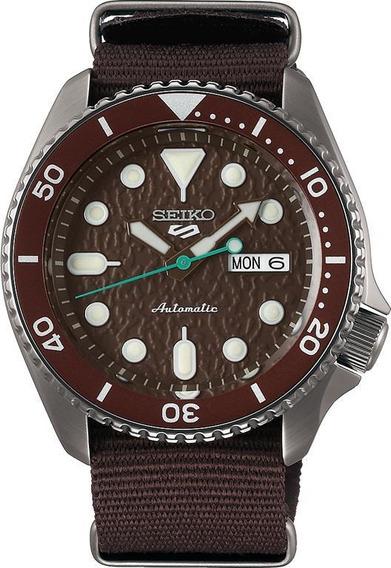 Reloj Seiko 5 Sports Srpd85k1 Caballero