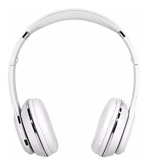 Headphone Mox Mo-f899 Bluetooth/tf Card - Branco R$139,99
