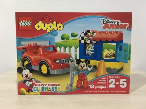 Lego Duplo Taller De Mickey Mouse 18 Piezas