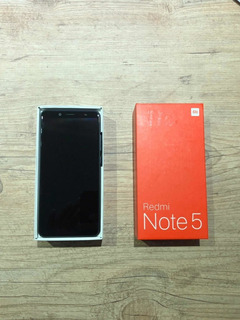 Xiaomi Redmi Note 5 64gb Preto Versão Global 4gb Ram 5,9 Pol