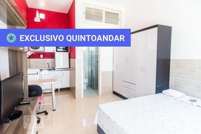 Studio No 1º Andar Mobiliado Com 1 Dormitório - Id: 892928182 - 228182