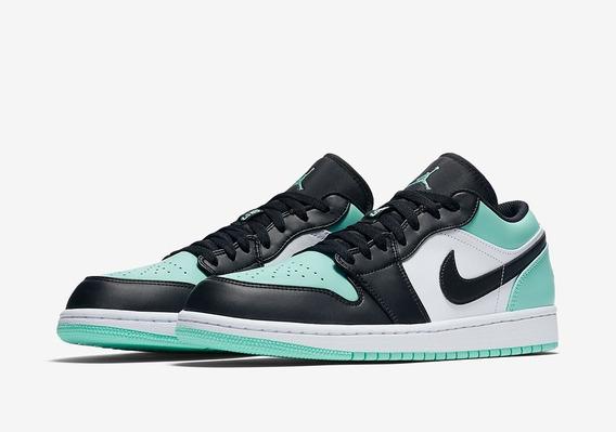 Zapatillas Nike Air Jordan 1 Low Mint Menta // Nuevo 2019