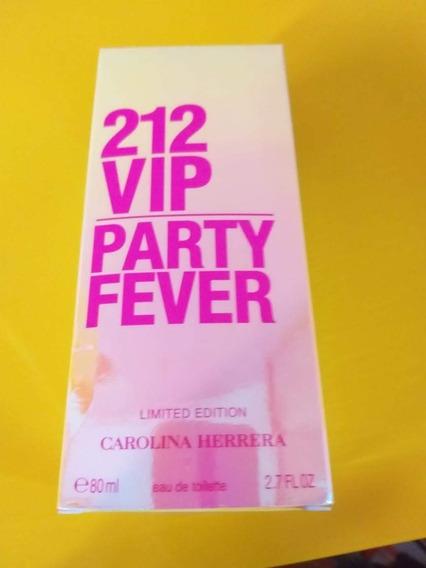 212 Vip Party Fever Carolina Herrera Feminino Edt 80ml