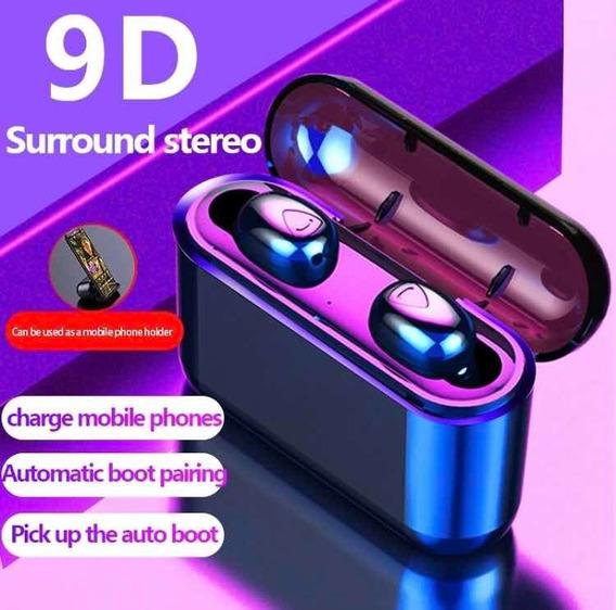 Mini Wireless Earphone 9d Ip7 Com Microfone