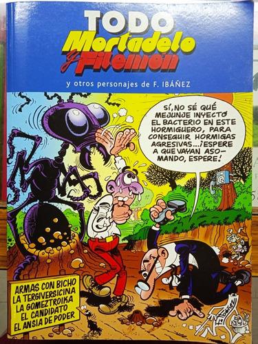 Imagen 1 de 5 de Todo Mortadelo Y Filemón Y Otros Personajes De F. Ibañez