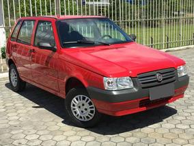 Fiat Uno Vermelho 2010 1.0 Mpi Mille Way Economy 8v Fle