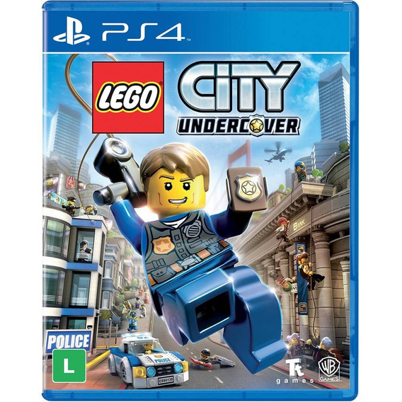 Lego City Undercover - Ps4 - Novo - Mídia Física - Lacrado