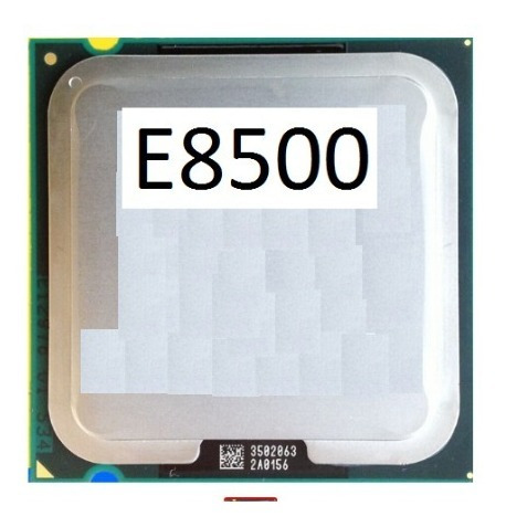 01 Processador E8500 Core2 Duo