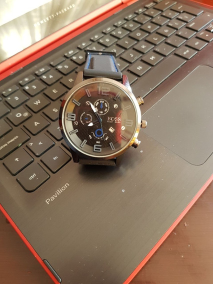 Reloj Hugo Boss Acero /caucho Nuevo