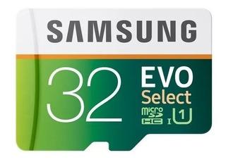 Memoria Samsung Evo 32 Gb Micro Sd U10 Original Msi