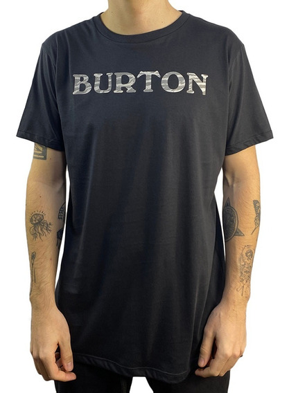 Remera Burton Mc Big Logo Pima