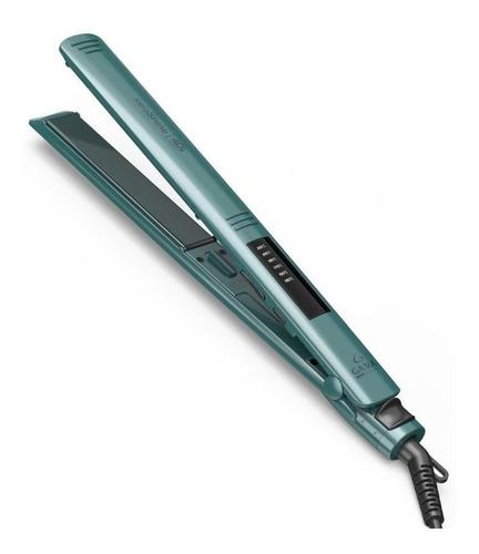 Planchita de pelo GA.MA Italy 4D Therapy Elegance Led KeraShine verde 110V/220V