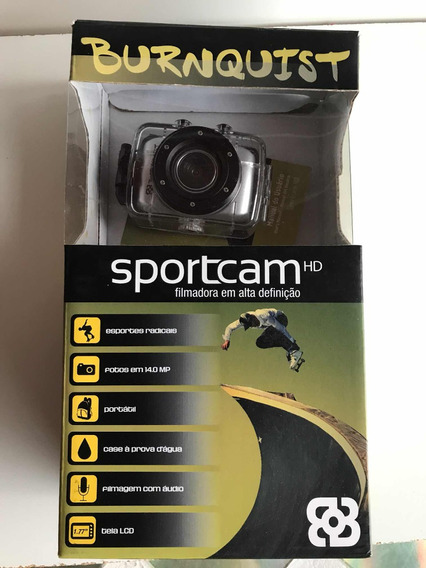 Filmadora Sport Cam Burnquist