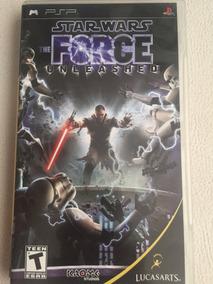Jogo Original Psp Star Wars The Force Unleashed Psp